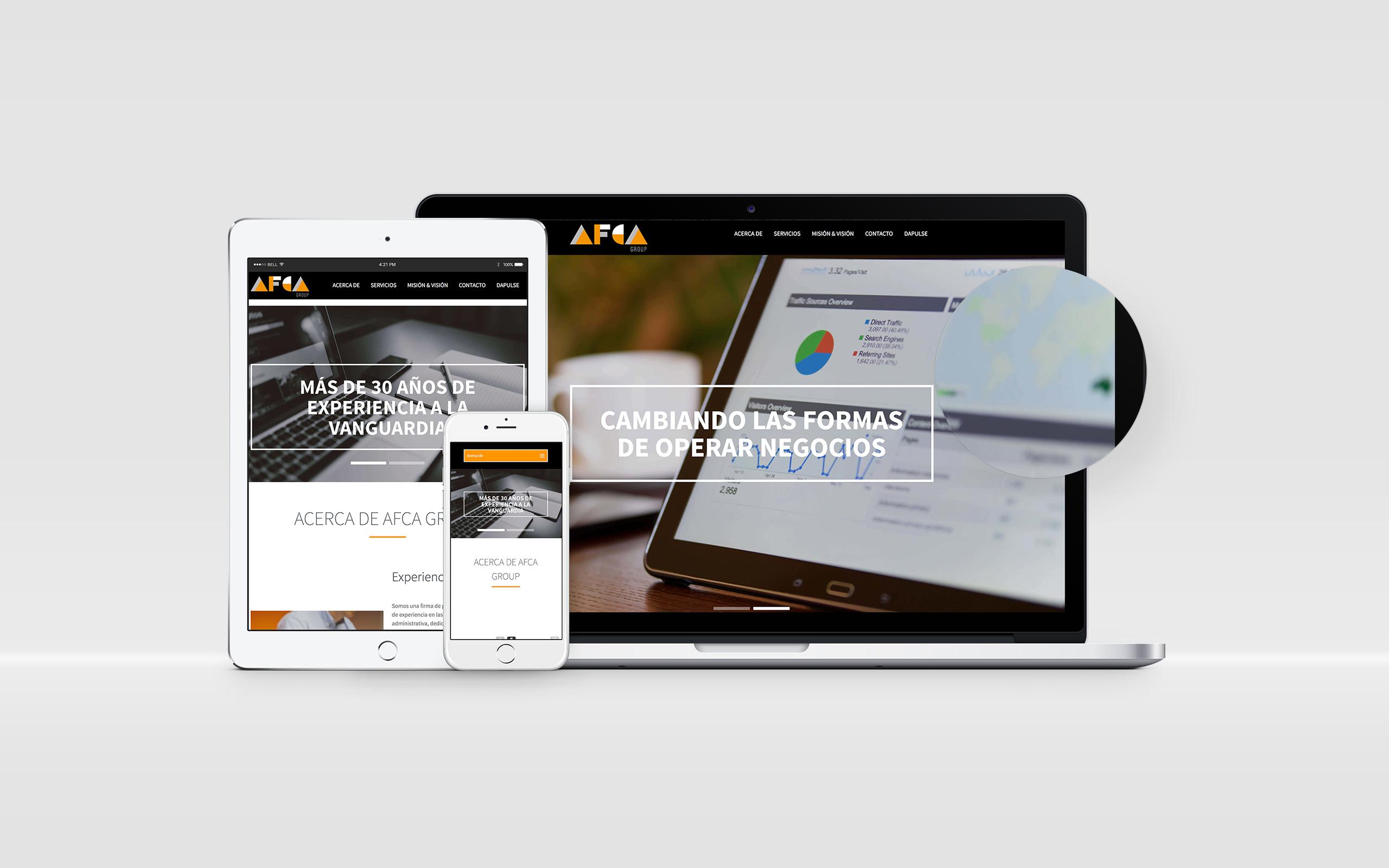 Sitio de Internet AFCA